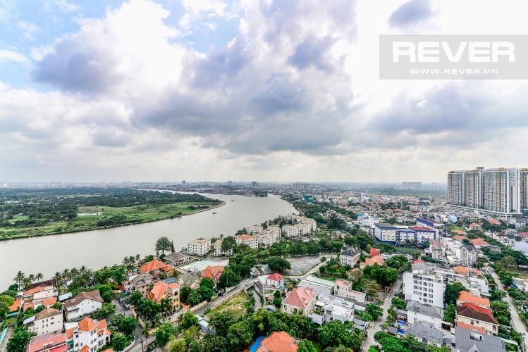 View Căn hộ Nassim Thảo Điền tầng cao, tháp A, 2 phòng ngủ, view sông