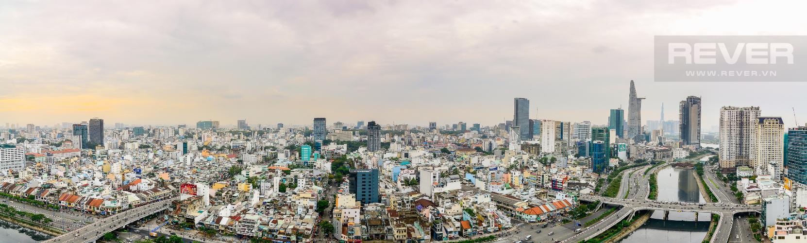 View Cho thuê căn hộ Masteri Millennium tầng cao, 3PN, nội thất đầy đủ