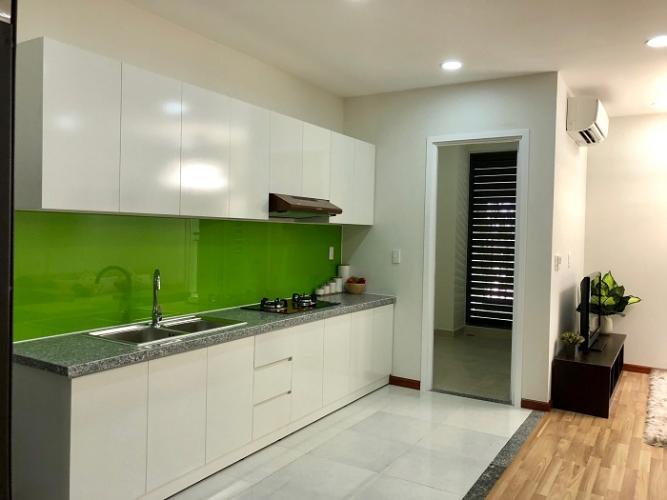 Phòng bếp căn hộ City Gate 3 Căn hộ City Gate 3 nội thất cơ bản 1 phòng ngủ view thành phố  .
