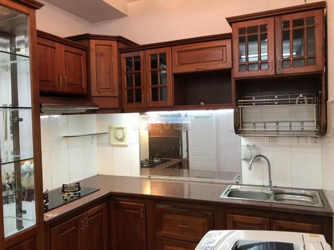 Phòng bếp căn hộ chung cư Ngô Tất Tố, Bình Thạnh Căn hộ chung cư Ngô Tất Tố bàn giao đầy đủ nội thất, 2 phòng ngủ.