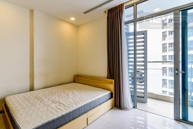 Phòng Ngủ Căn hộ Vinhomes Central Park tầng cao P6 thiết kế 1 phòng ngủ thông thoáng