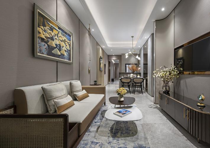 Bán căn hộ tầng cao The Marq, Q.1 tiện ích đa dạng, thiết kế hiện đại.