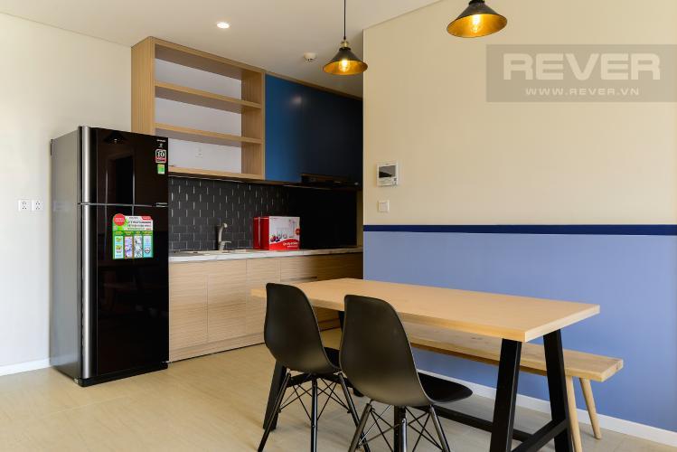 Phòng Ăn Cho thuê căn hộ Diamond Island 94,2m2 2PN 2WC, đầy đủ nội thất, view sông