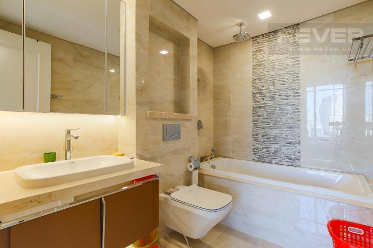 Phòng Tắm 1 Căn hộ Vinhomes Golden River tầng thấp, 3PN, nội thất đầy đủ