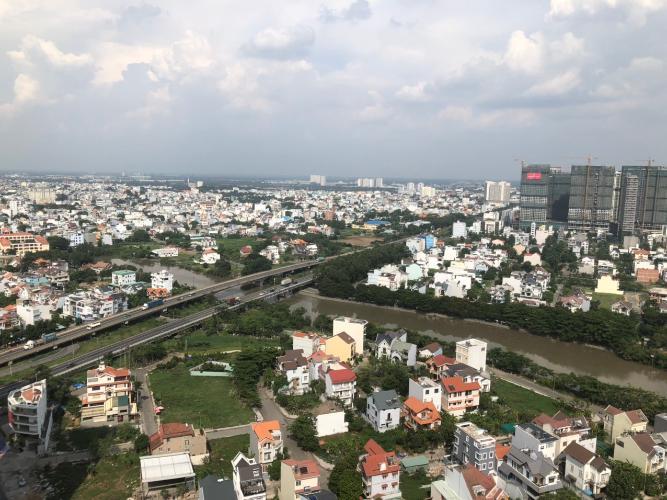 Bán căn hộ tầng cao 2 phòng ngủ The Sun Avenue có view thành phố, tiện ích đầy đủ.