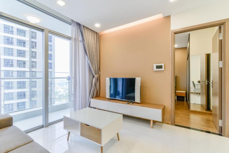 Căn hộ Vinhomes Central Park 1 phòng ngủ tầng cao P7 view sông
