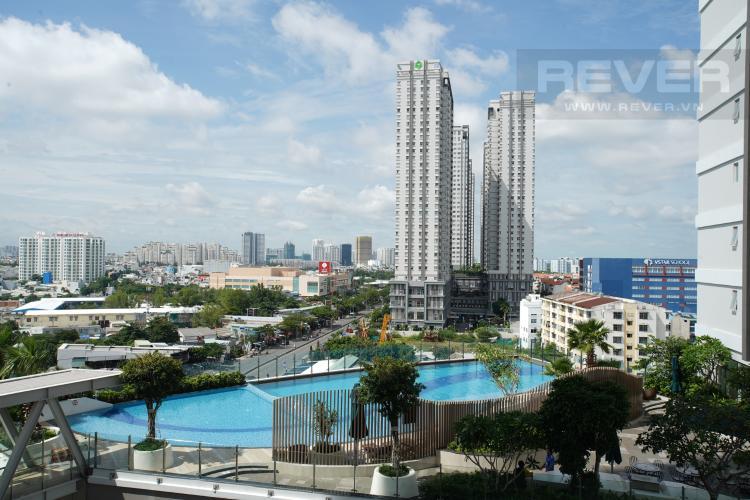 View Bán hoặc cho thuê căn hộ Sunrise CityView 3PN, đầy đủ nội thất, view hồ bơi thoáng mát