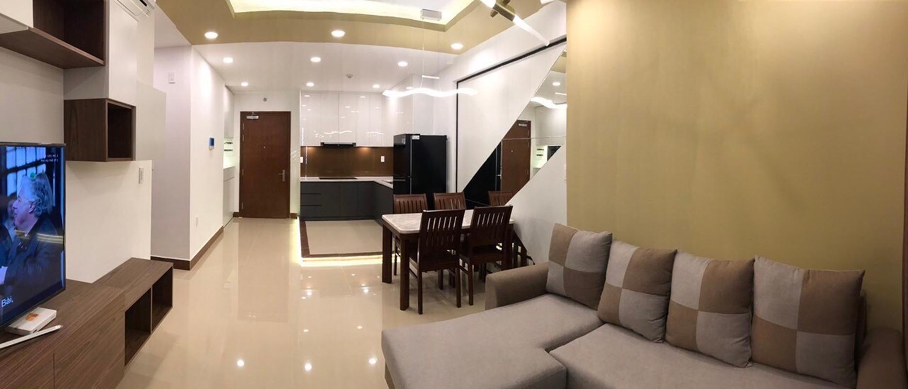2 Bán căn hộ The Gold View 2PN, tầng trung, đầy đủ nội thất, hướng cửa Tây Nam