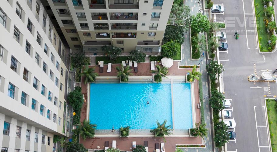 View Căn hộ Masteri Thảo Điền 2 phòng ngủ tầng cao T4 view hồ bơi