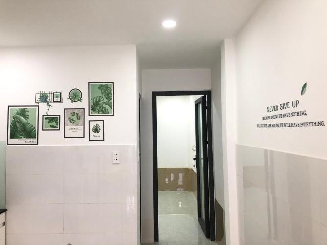 Không gian nhà phố Quận Gò Vấp Nhà phố Q.Gò Vấp diện tích đất 3.01m x13.95m, nội thất cơ bản.