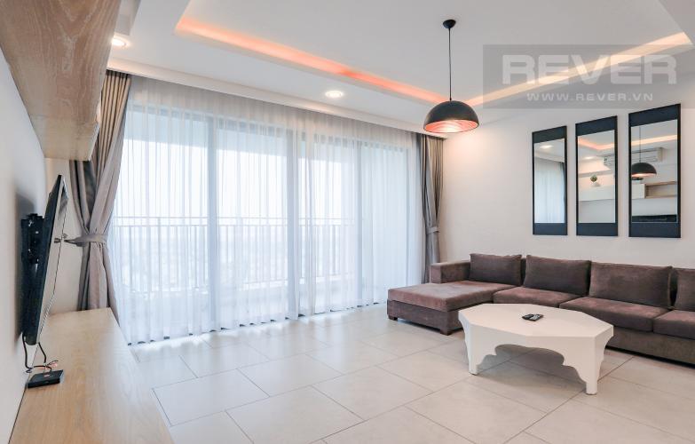 Phòng Khách Căn hộ The View Riviera Point tầng cao 2PN đầy đủ nội thất