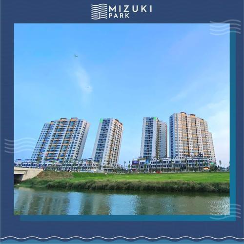 building căn hộ mizuki park Căn hộ Mizuki Park tầng thấp, bàn giao kèm nội thất cơ bản.
