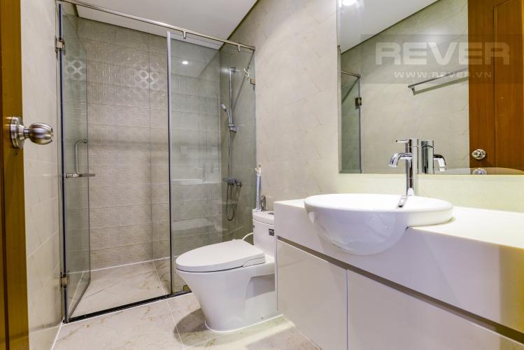 Phòng tắm Căn hộ Vinhomes Central Park tầng cao 2PN thiết kế đẹp, nội thất đầy đủ