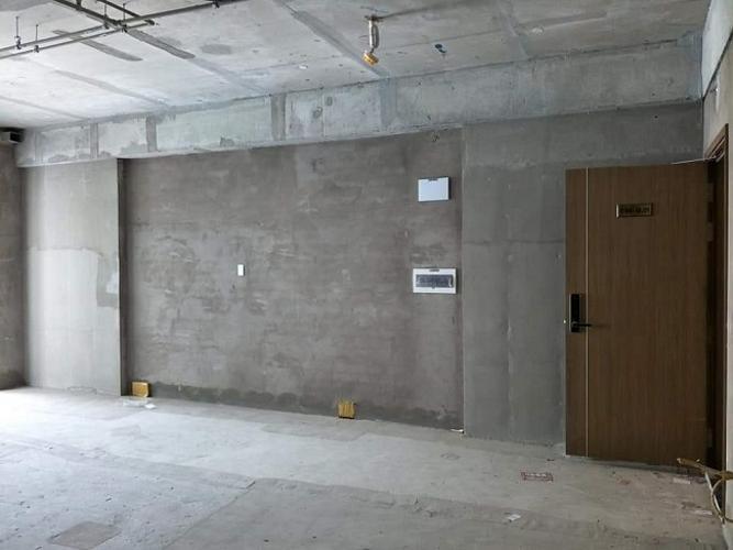 Phòng khách căn hộ Scenic Valley Căn hộ Scenic Valley tầng thấp bàn giao thô không có nội thất.
