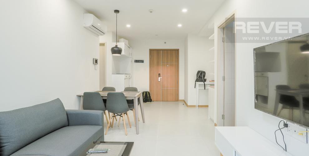 Phòng Khách Căn hộ New City Thủ Thiêm tầng cao, 2PN đầy đủ nội thất