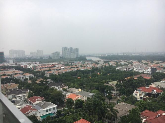 View Happy Residence Quận 7 Căn hộ Hưng Phúc - Happy Residence tầng 7, view thành phố, đầy đủ nội thất