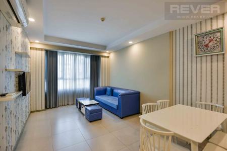 Căn hộ The Gold View 2 phòng ngủ, tầng 23, đầy đủ nội thất