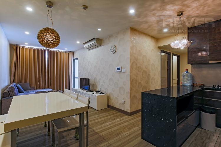Phòng Khách Bán căn hộ Icon 56 2PN, diện tích 79m2, đầy đủ nội thất