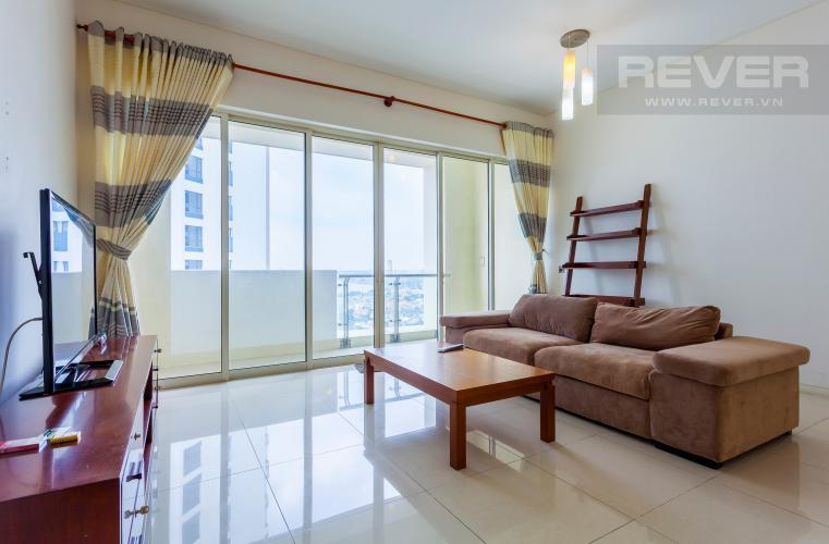 Phòng khách Căn hộ Estella tầng cao tháp 3B, thiết kế đẹp, đầy đủ tiện nghi