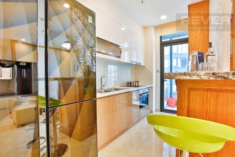 Bếp Căn hộ Vinhomes Golden River 3 phòng ngủ tầng cao A4 view sông