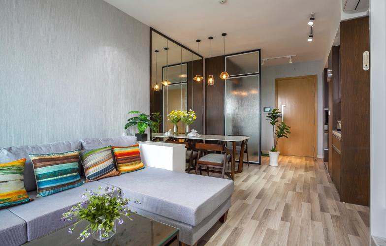 Căn hộ Vista Verde 2 phòng ngủ tầng cao T1 nội thất hiện đại