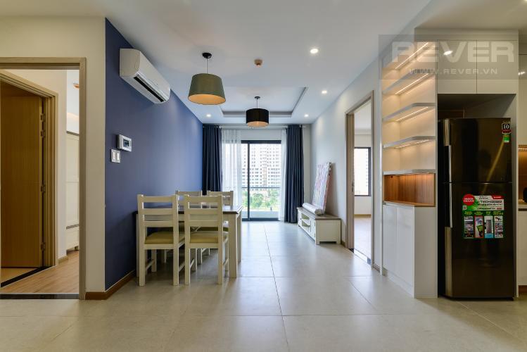 Phòng Khách Cho thuê căn hộ New City Thủ Thiêm view công viên, đầy đủ nội thất, 2PN 2WC