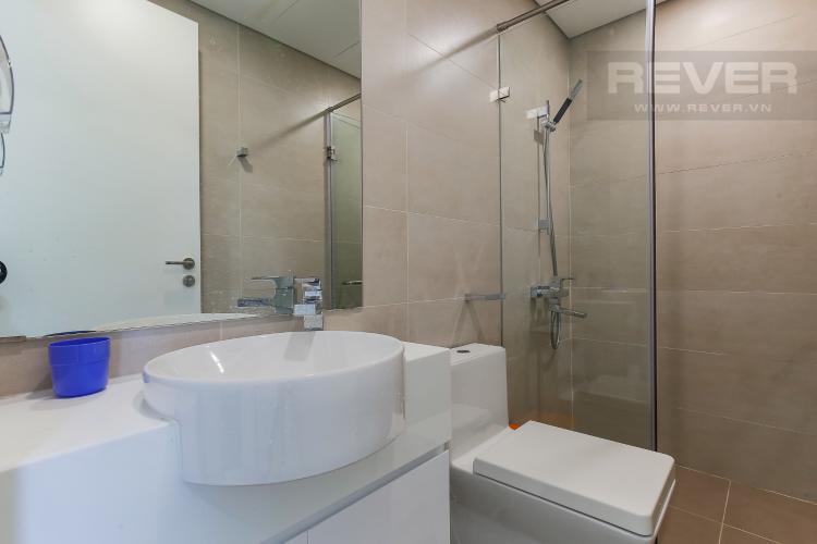 Phòng Tắm 2 Cho thuê căn hộ Masteri Millennium Quận 4 tầng cao, 2PN, đầy đủ nội thất