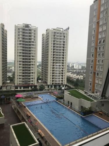 tiện ích căn hộ CBD Premium Home Căn hộ CBD Premium Home tầng trung, view nội khu hồ bơi.