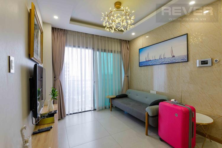 Phòng Khách Bán căn hộ New City Thủ Thiêm 3 phòng ngủ, hướng Đông Nam tháp Babylon, đầy đủ nội thất