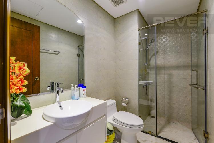 Phòng tắm 2 Căn hộ Vinhomes Central Park 2 phòng ngủ tầng cao L3 nội thất đầy đủ