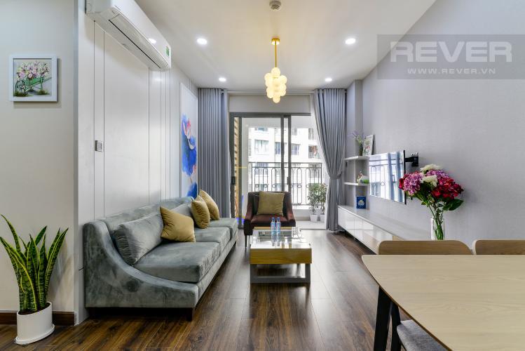 Phòng Khách Cho thuê căn hộ Saigon Royal 2PN, tháp A, đầy đủ nội thất, view hồ bơi