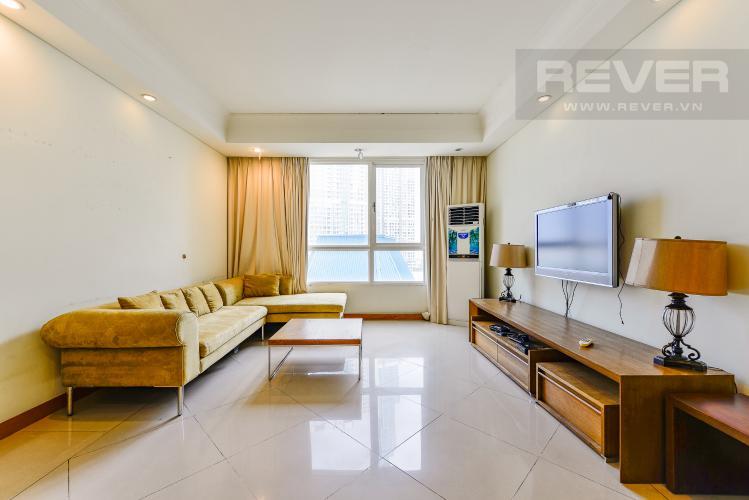 Phòng khách Cho thuê căn hộ The Manor 2PN, đầy đủ nội thất, view đẹp