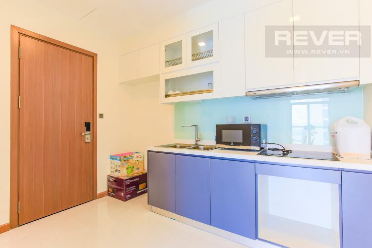 Phòng Bếp Căn góc Vinhomes Central Park 2 phòng ngủ tầng cao Park 6
