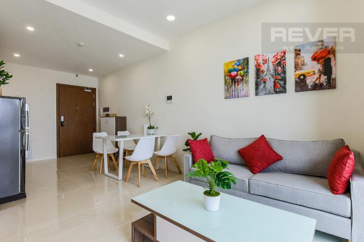 Phòng Khách Bán căn hộ Masteri Millennium tầng cao, 2PN, Quận 4
