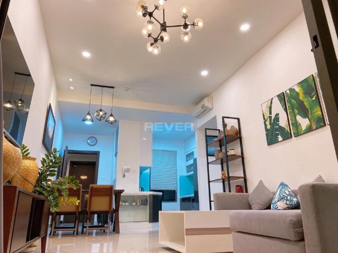 Phòng khách căn hộ The Sun Avenue, Quận 2 Căn hộ The Sun Avunue ban công hướng Đông Nam, view đón gió mát.