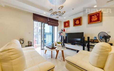 Bán căn hộ Vinhomes Central Park 4PN, diện tích 141m2, đầy đủ nội thất, view sông Sài Gòn