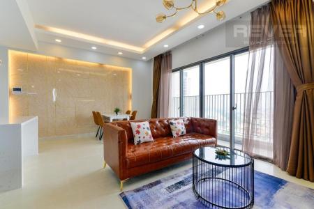 Cho thuê căn hộ Masteri Thảo Điền 2PN, tầng trung, tháp T4, đầy đủ nội thất, view Xa lộ Hà Nội