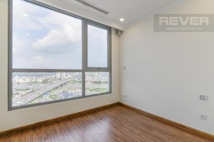 Phòng Ngủ 2 Căn hộ Vinhomes Central Park 2 phòng ngủ tầng cao L6 view sông