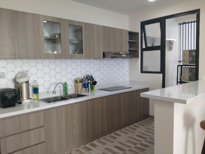 Phòng bếp căn hộ Riviera Point Căn hộ tầng cao Riviera Point bàn giao đầy đủ nội thất, view thành phố.