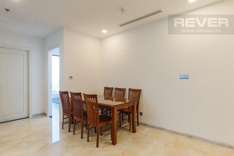 Bàn Ăn Căn hộ Vinhomes Golden River tầng thấp, 3PN, nội thất đầy đủ
