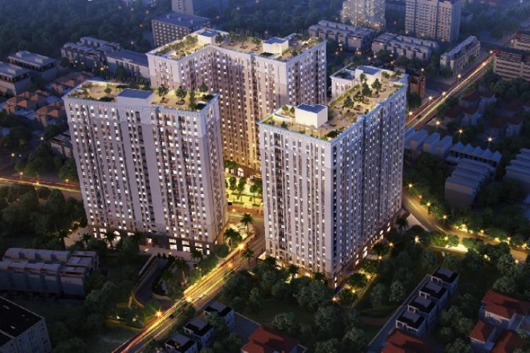Chung cư Imperial Place, Bình Tân Căn hộ Imperial Place hướng Đông Nam nội thất cơ bản, view thoáng mát.