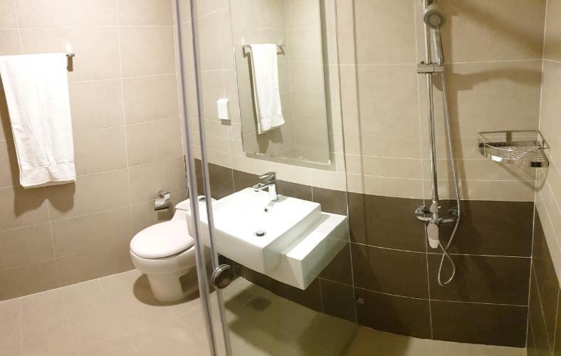 Toilet căn hộ The Sun Avenue Bán căn hộ The Sun Avenue thuộc tầng thấp, 2 phòng ngủ, diện tích 67.3m2, đầy đủ nội thất