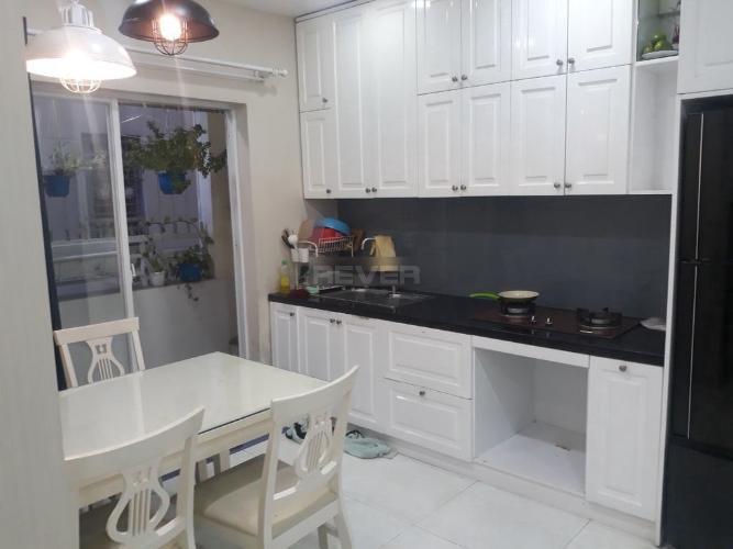 Phòng bếp căn hộ Tecco Green Nest, Quận 12 Căn hộ Tecco Green Nest đầy đủ nội thất cao cấp, view nội khu.