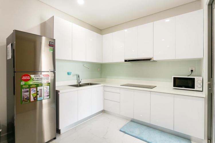 bếp căn hộ 3 phòng ngủ an gia riverside Căn hộ An Gia Riverside tầng trung, view thành phố sầm uất.