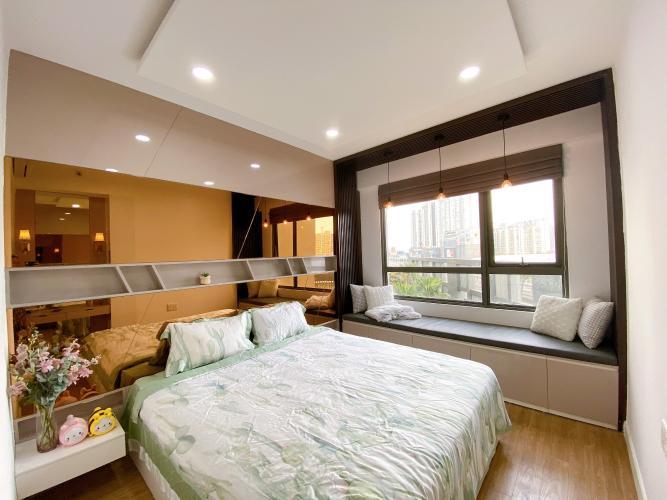 Phòng ngủ Masteri Thảo Điền Quận 2 Căn hộ Masteri Thảo Điền view nội khu hồ bơi, nội thất sang trọng.