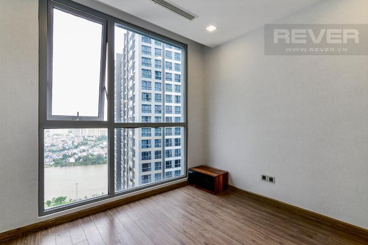 Phòng Ngủ 3 Căn hộ Vinhomes Central Park tầng trung, tháp P7, 3 phòng ngủ, view sông