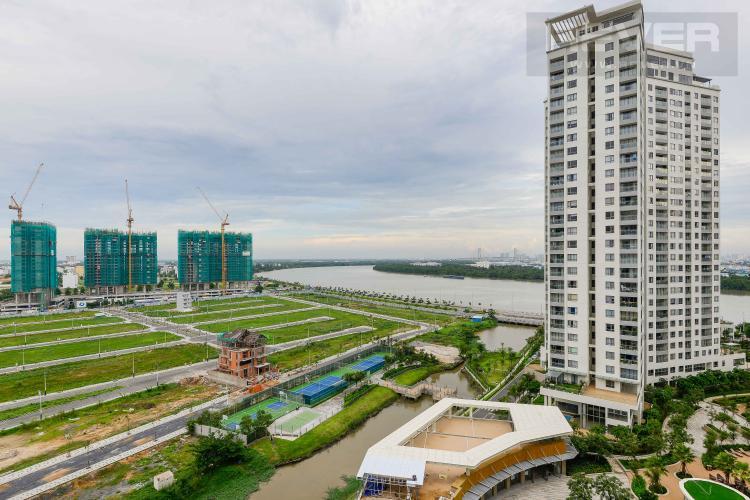 View Cho thuê căn hộ Diamond Island - Đảo Kim Cương 1PN, tầng trung, tháp Canary, view sông thoáng mát