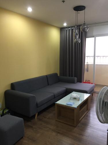 Căn hộ Cityland Park Hills nội thất đầy đủ, có ban công rộng.