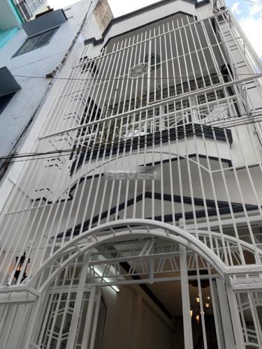Nhà phố 1 trệt 1 lầu hẻm Phan Đình Phùng lộ giới 3.5m, thiết kế nhà hiện đại