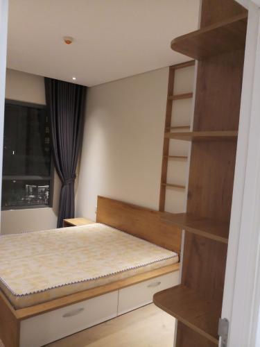 Phòng ngủ căn hộ Đảo Kim Cương Căn hộ view nội khu Diamond Island đầy đủ nội thất sang trọng.
